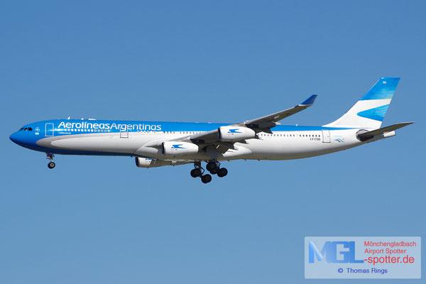 04.04.2015 LV-CSD Aerolineas Argentinas A340-313