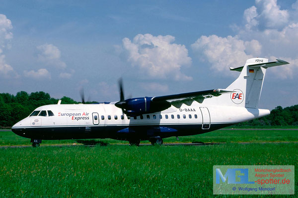 05.2000 D-BAAA European Air Express ATR 42-300 cn011