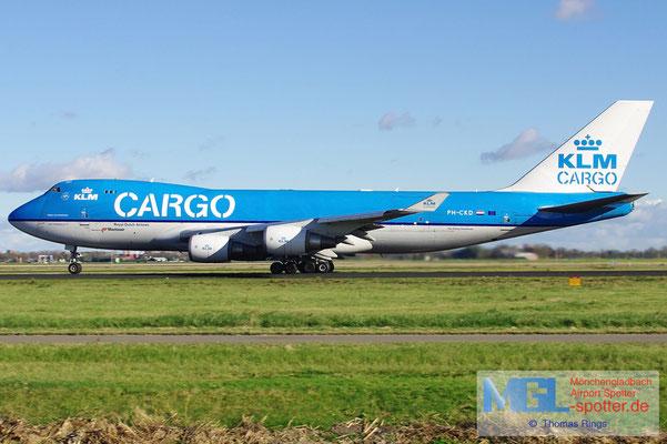 27.10.2012 PH-CKD KLM Cargo B747-406ERF