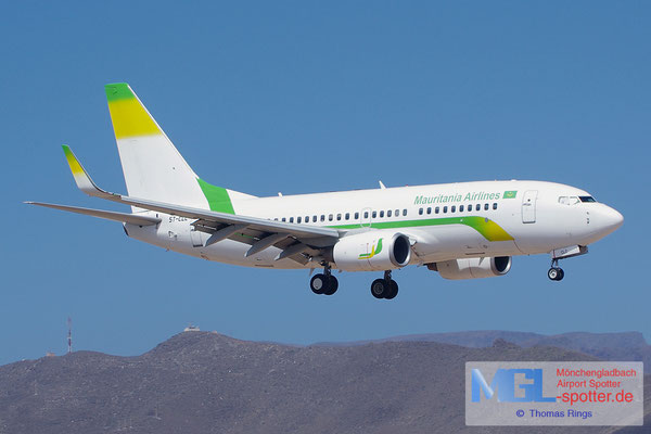 08.07.2014 5T-CLC Mauritania Airlines B737-7EE/W