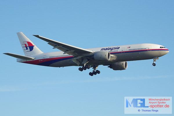 19.05.2013 9M-MRJ Malaysia Airlines B777-2H6ER