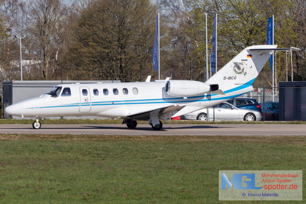 31.03.2021 D-IBCG ProAir Aviation Cessna 525A CitationJet CJ2