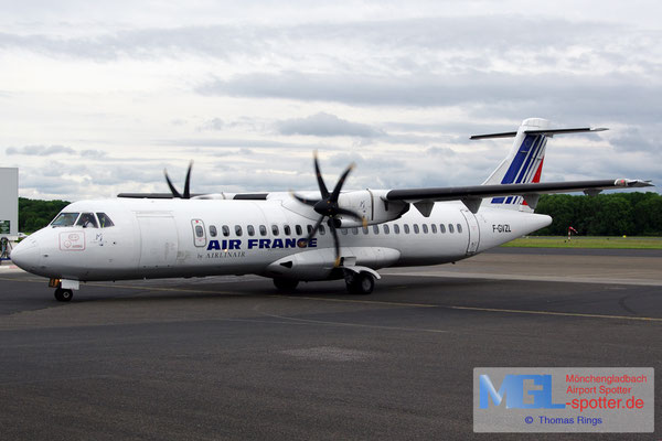 24.05.2014 F-GVZL Airlinair / Air France ATR 72-500 cn553