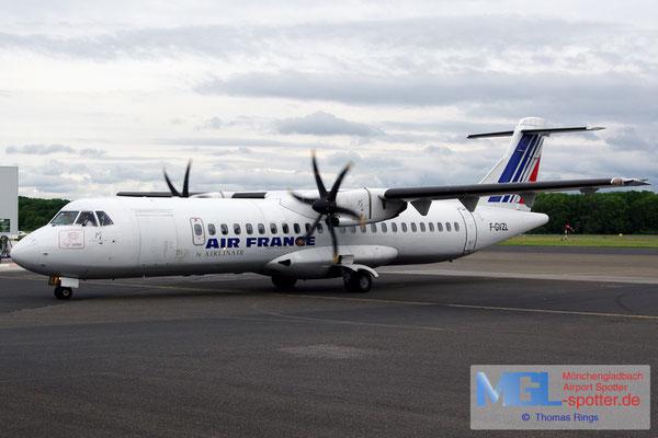 24.05.2014 F-GVZL Airlinair / Air France ATR 72-500 cn553
