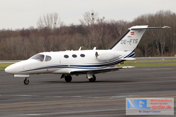 18.01.2021 OE-FTS Cessna CIT510 Mustang