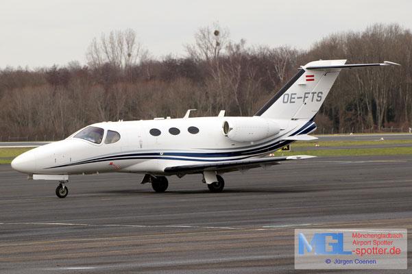 18.01.2021 OE-FTS Fly Tirol Cessna 510 Citation Mustang