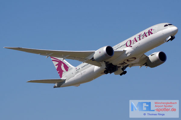 22.07.2014 A7-BCJ Qatar Airways B787-8