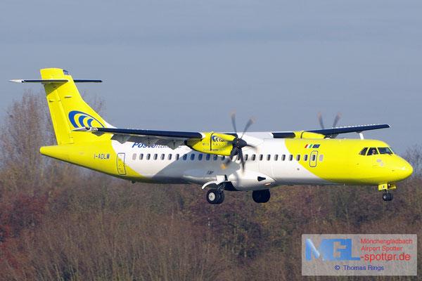 22.11.2014 I-ADLW Mistral Air / Poste Italiane ATR 72-500 cn707