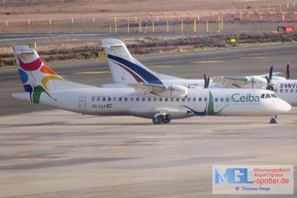 12.07.2014 3C-LLI Ceiba Intercontinental ATR 72-500