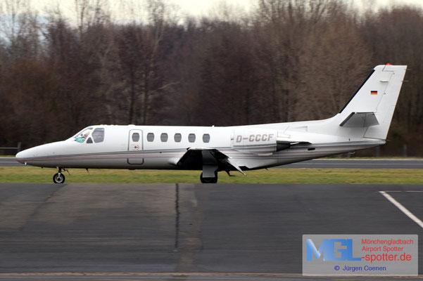14.01.2021 D-CCCF Cessna 550 Citation II