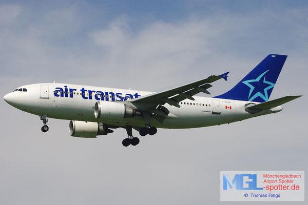 20.08.2012 C-GTSX Air Transat A310-304