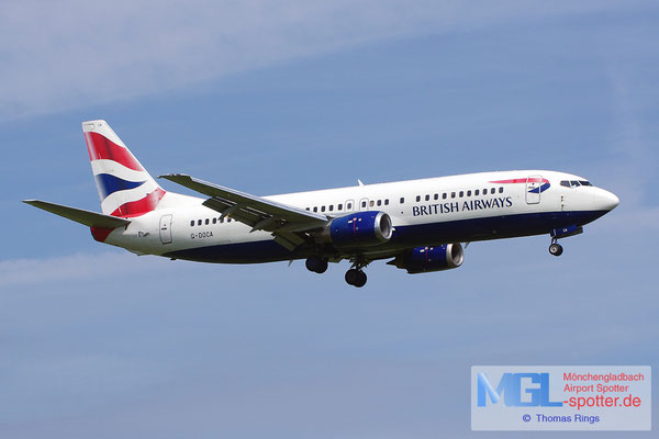 22.06.2014 G-DOCA British Airways B737-436