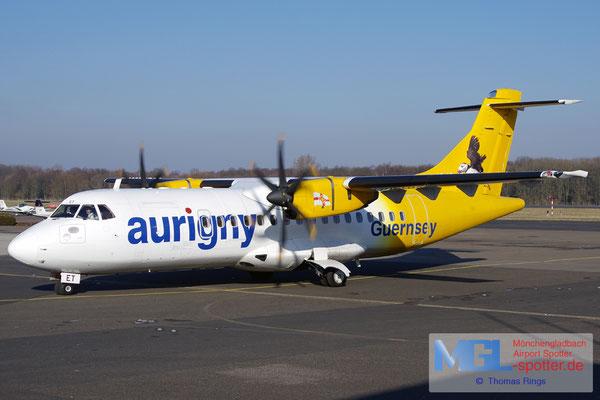 26.01.2017 G-HUET Aurigny Air Services ATR 42-500 cn584