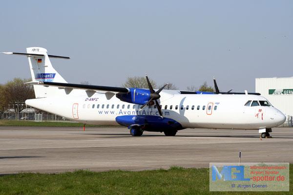 02.04.2007 D-ANFC Avanti Air ATR 72-202 cn237