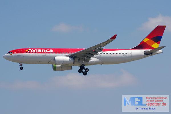 06.04.2015 N973AV Avianca A330-243