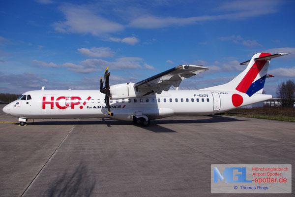22.03.2015 F-GVZV HOP! ATR 72-500 cn686