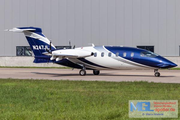 22.07.2021 N247JL Piaggio P-180 Avanti II