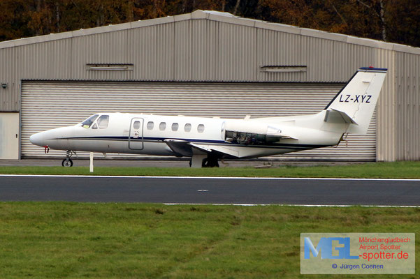 23.11.2019 LZ-XYZ Cessna 550B Citation Bravo