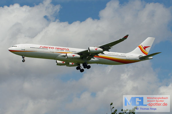 16.06.2012 PZ-TCP Surinam Airways A340-311