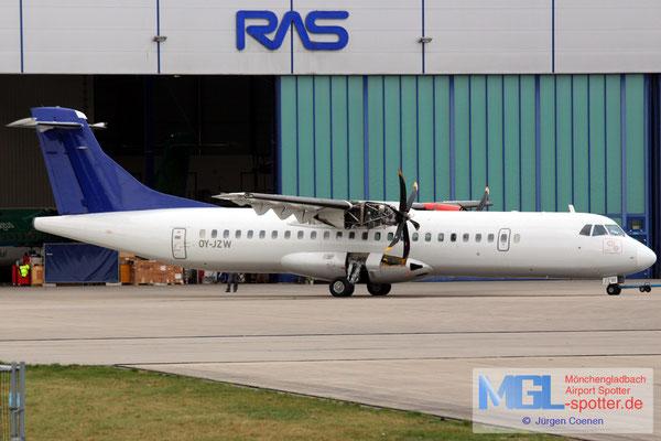 06.04.2017 OY-JZW Jettime / (SAS) ATR 72-500 cn773