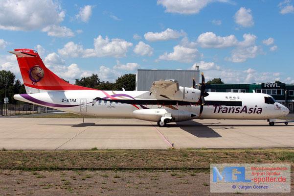 14.08.2019 2-ATRA NAC / Transasia ATR 72-600 cn1318