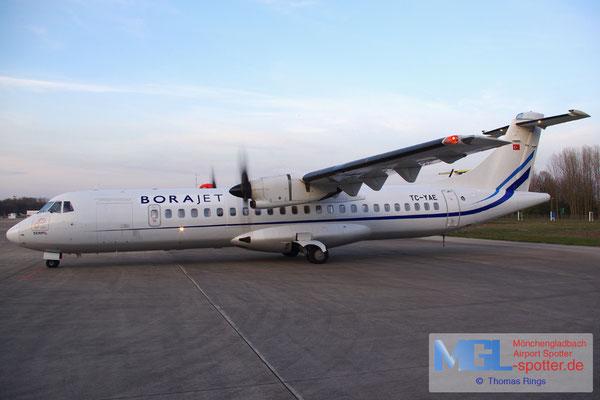 29.03.2014 TC-YAE BoraJet ATR 72-500 cn705