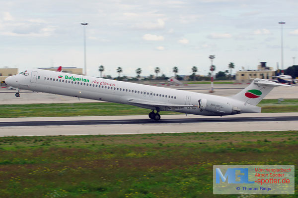 02.01.2014 LZ-LDM Bulgarian Air Charter MD-82