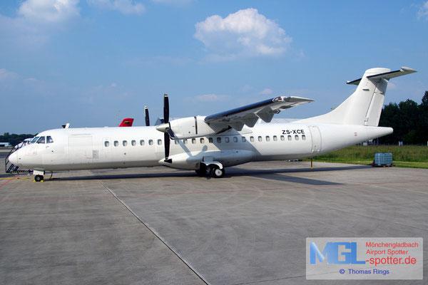 02.06.2014 ZS-XCE Solenta Aviation ATR 72-202F cn396
