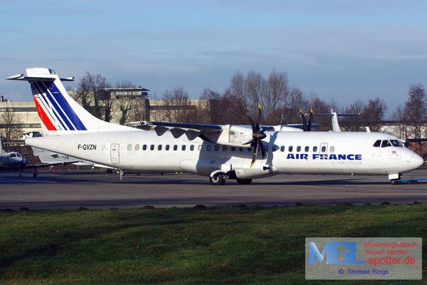 11.01.2014 F-GVZN Airlinair / Air France ATR 72-500 cn563