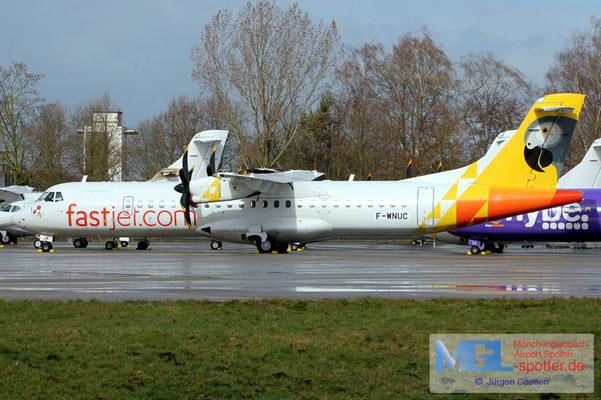 10.03.2019 F-WNUC NAC / Fastjet ATR 72-600 cn1060