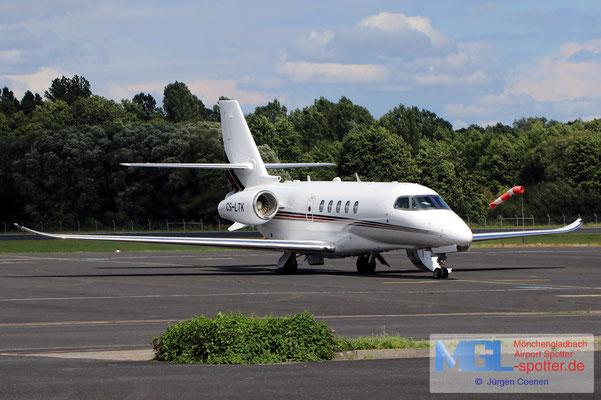 06.08.2021 CS-LTK  Netjets  Cessna CIT680A Latitude