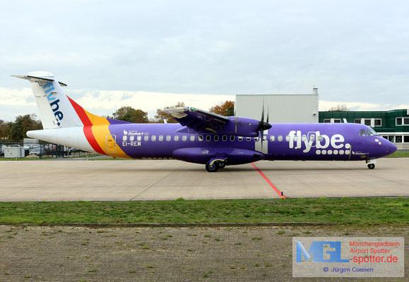 11.11.2019 EI-REM Stobart Air / Flybe ATR 72-500 cn760