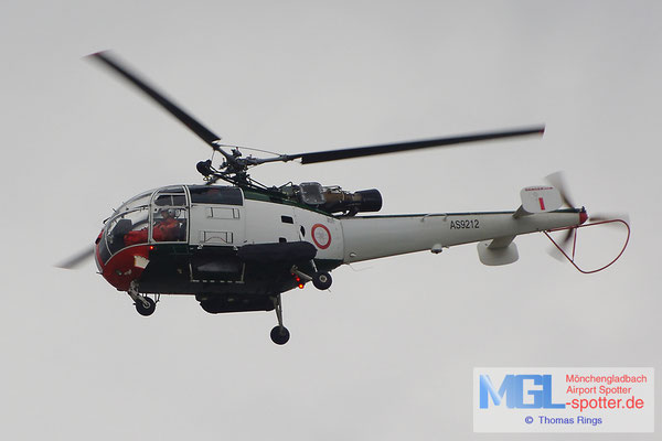 30.12.2013 AS9212 Malta Air Force Aerospatiale SA316B Alouette III