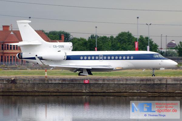 23.06.2014 CS-DSB Netjets Dassault Falcon 7X