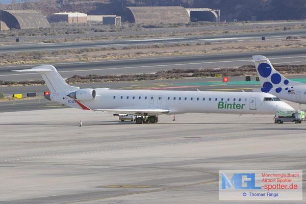 12.07.2014 EC-JZV Air Nostrum / Binter CRJ-900ER