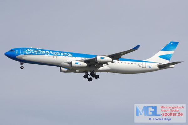03.04.2015 LV-CSE Aerolineas Argentinas A340-313
