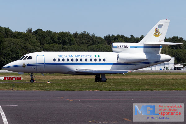 24.06.2020 NAF961 Nigeria Air Force Dassault Falcon 900