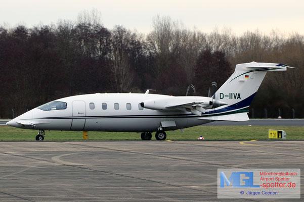 20.01.2021 D-IIVA AirGO Private Airline Piaggio P180 Avanti
