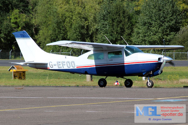 09.09.2016 G-EFOO Cessna T-210 Turbo Centurion N