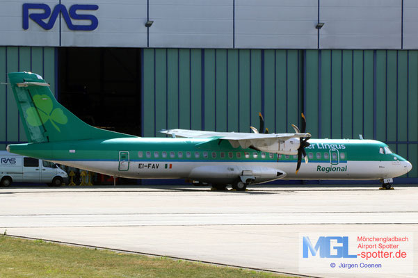28.06.2021 EI-FAV Aer LINGUS/Stobart Air ATR 72-600