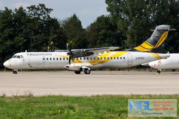 08.09.2018 2-RPDC NAC / Passaredo ATR 72-600 cn1040