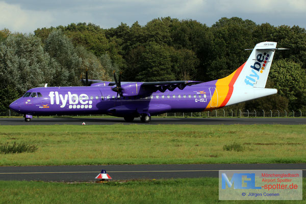 12.10.2017 G-ISLI Blue Islands / Flybe ATR 72-500 cn529