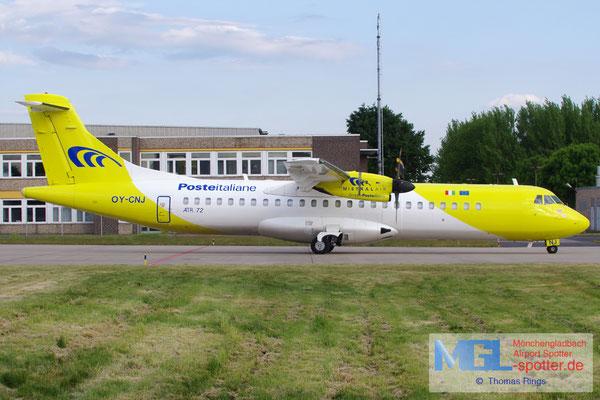 20.05.2015 OY-CNJ Mistral Air / Poste Italiane ATR 72-212F cn414