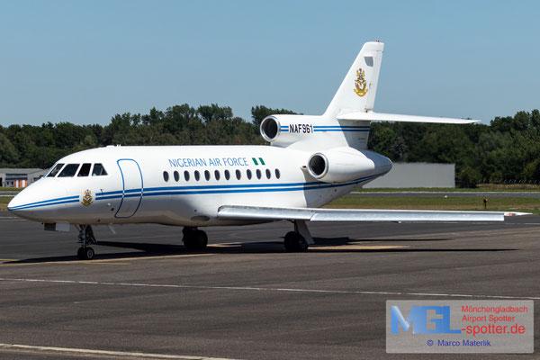 24.06.2020 NAF961 Nigeria Air Force Dassault Falcon 900
