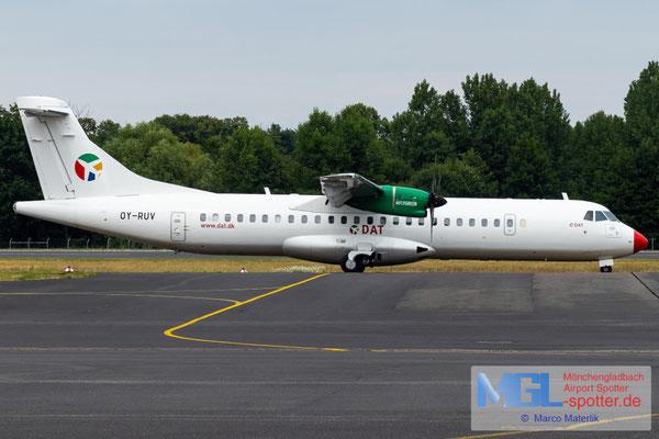 15.06.2020 OY-RUV Danish Air Transport ATR 72-600 cn1527