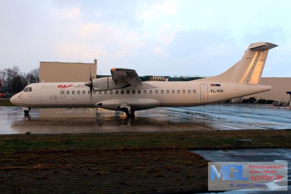 09.02.2019 YL-RAI RAF Avia ATR 72-202F cn493