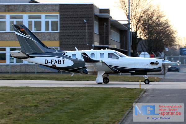 26.02.2018 D-FABT Socata TBM-900