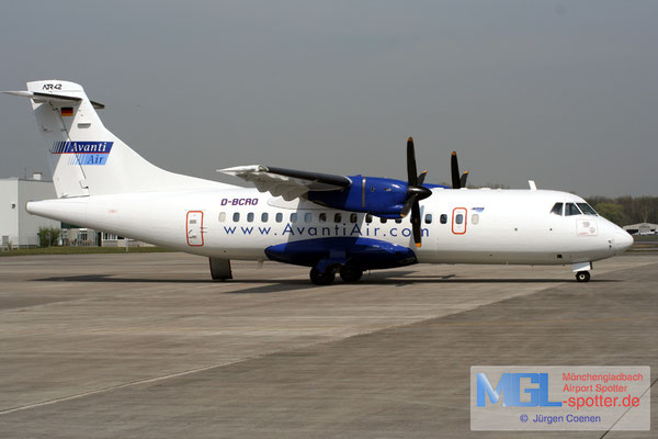 14.04.2007 D-BCRO Avanti Air ATR 42-312QC cn122