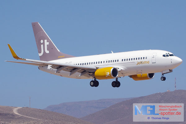 08.07.2014 OY-JTT Jettime B737-73S/W