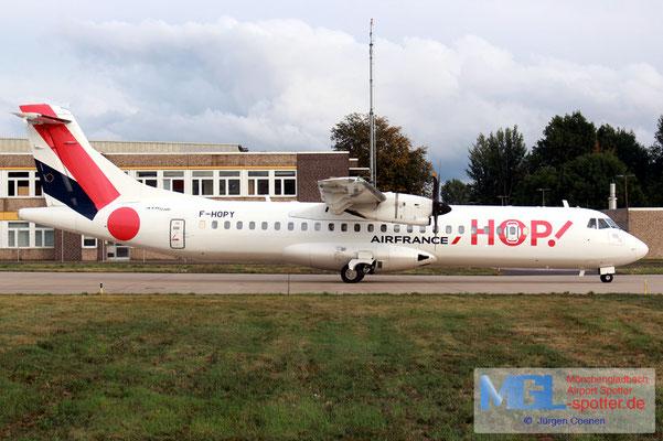 18.08.2019 F-HOPY HOP! ATR72-600 cn 1237